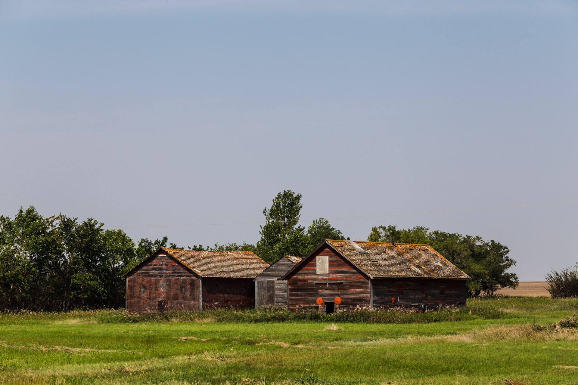 A Collection Of Barns (angle barns)