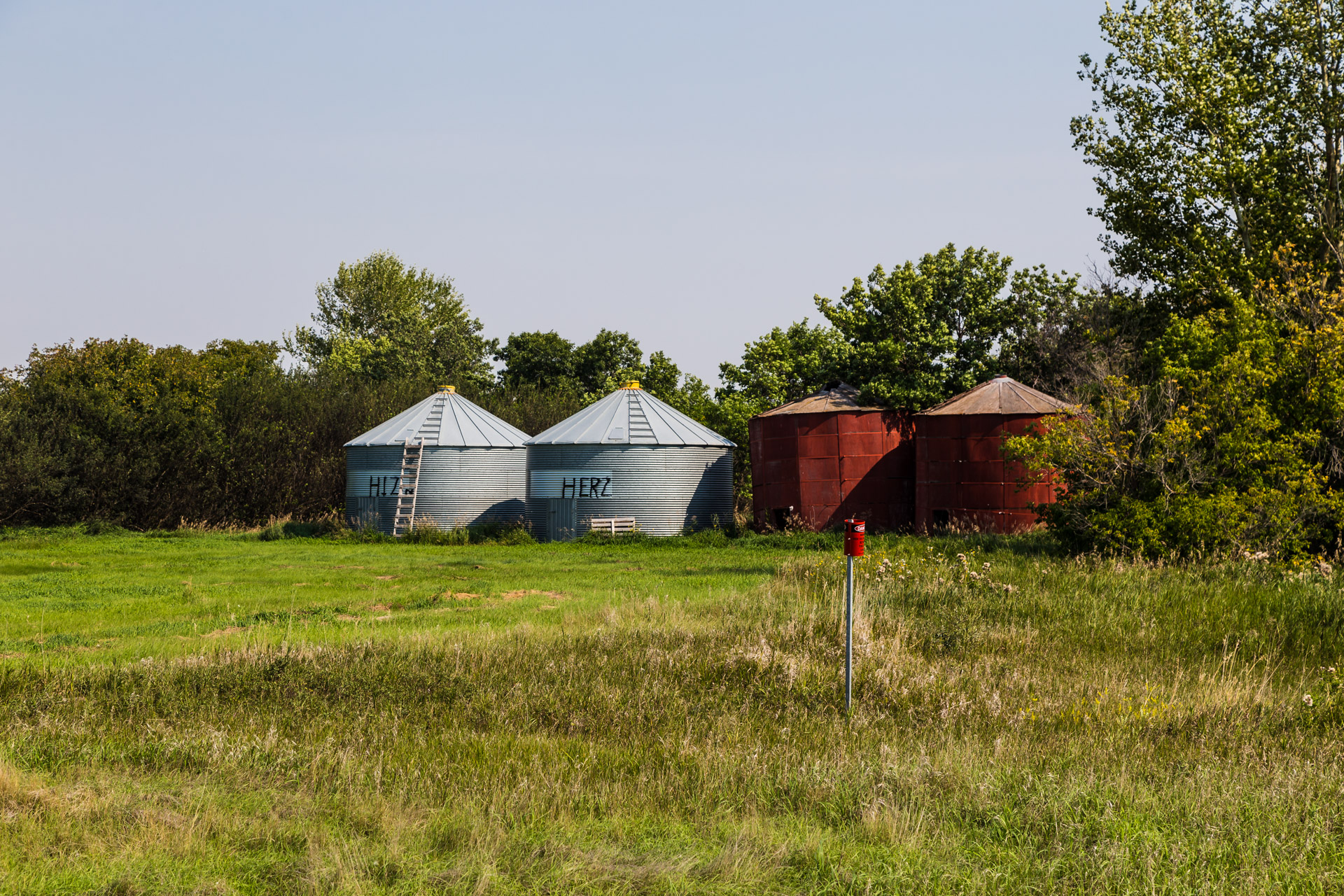 A Collection Of Barns (angle towers)