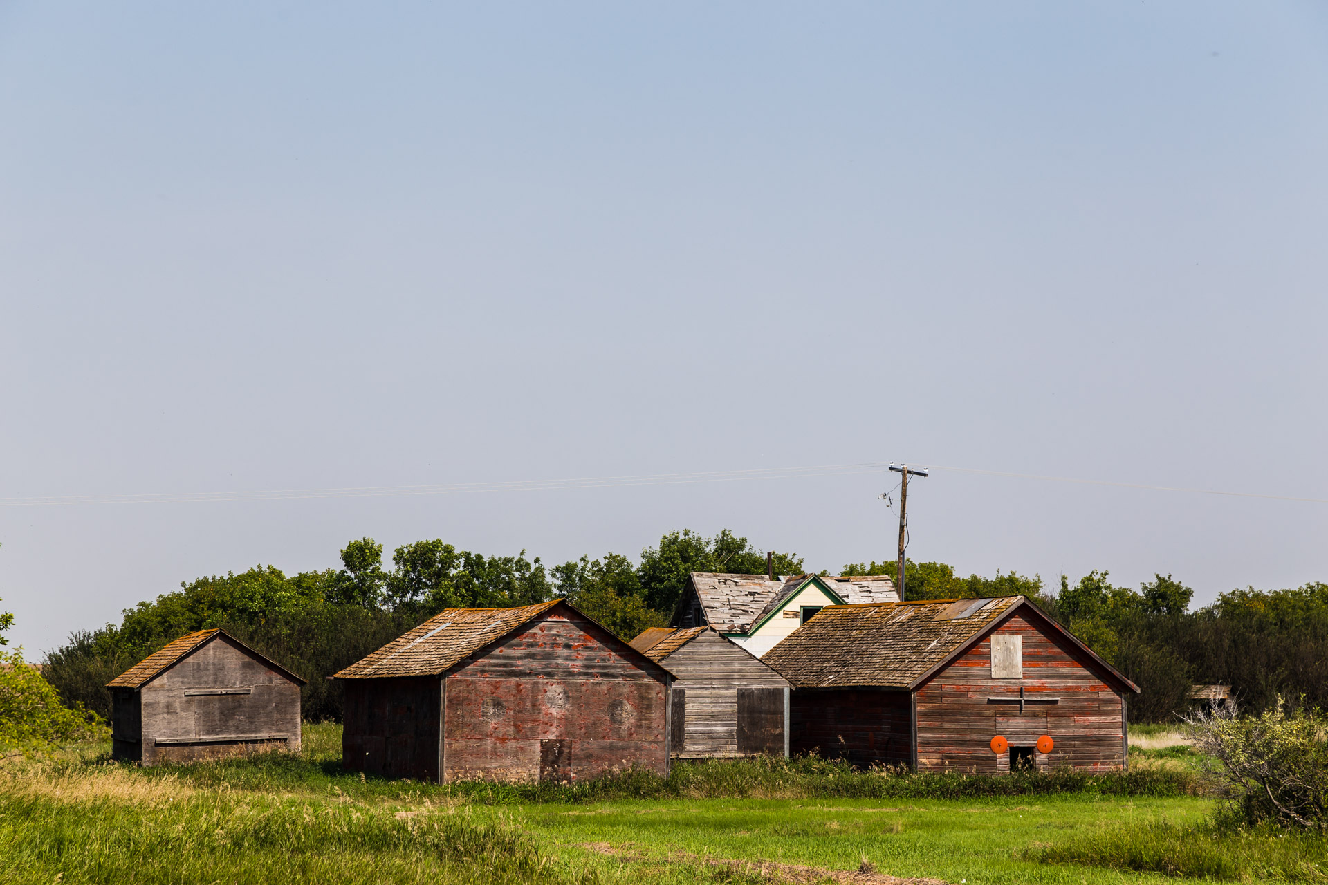 A Collection Of Barns (left angle mid)