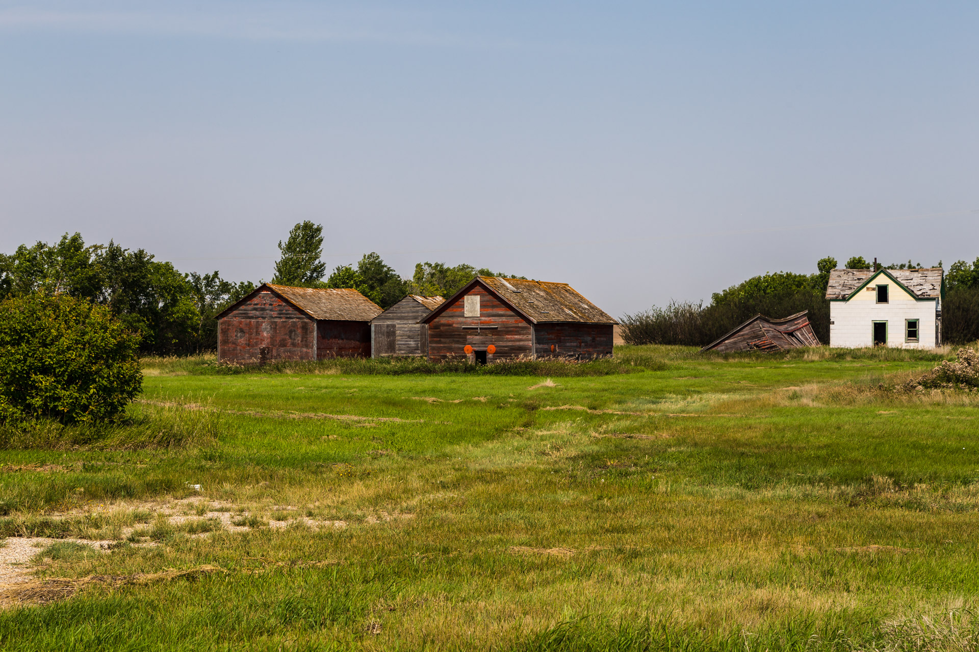 A Collection Of Barns (right angle mid)