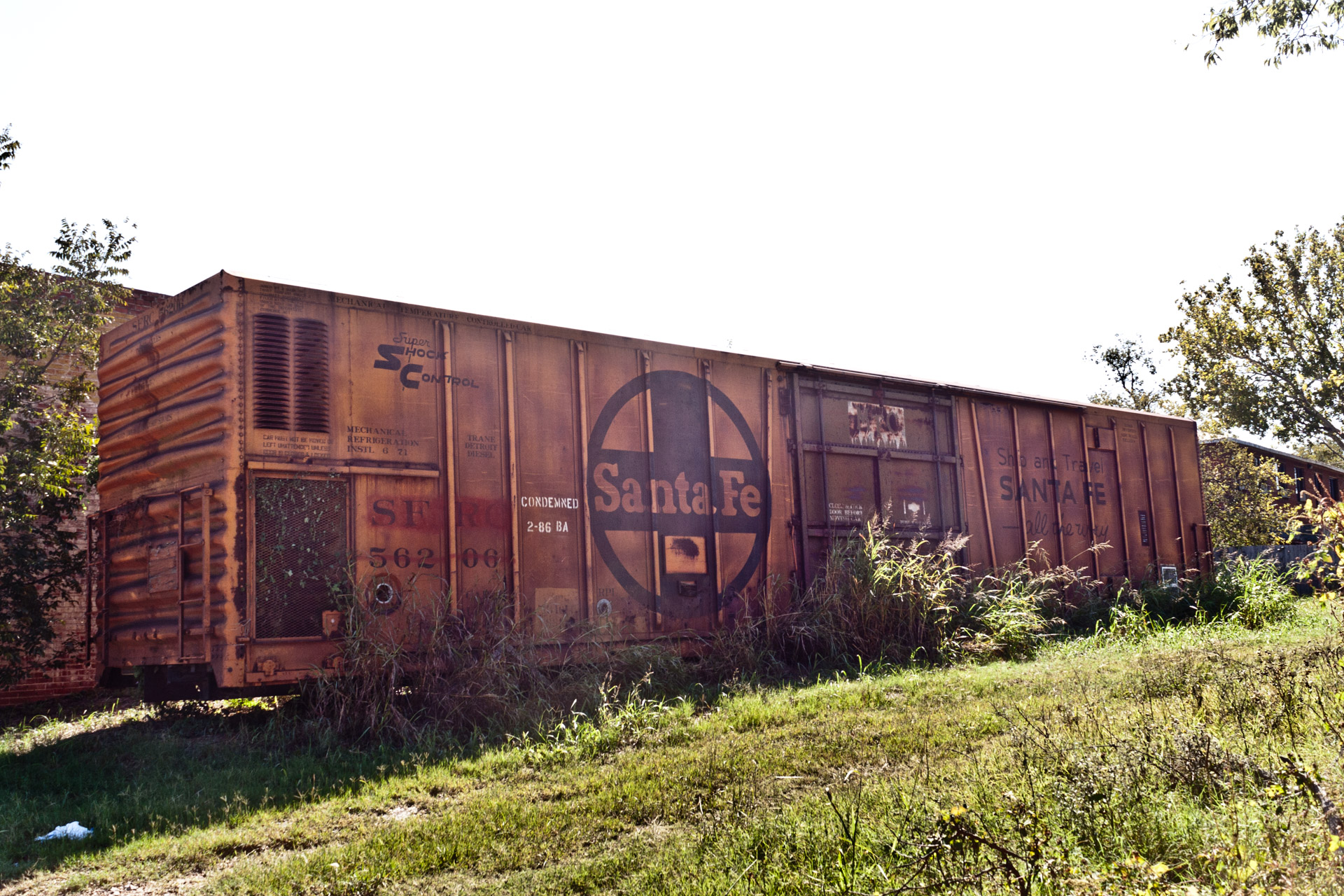 A Condemned Railroad Car