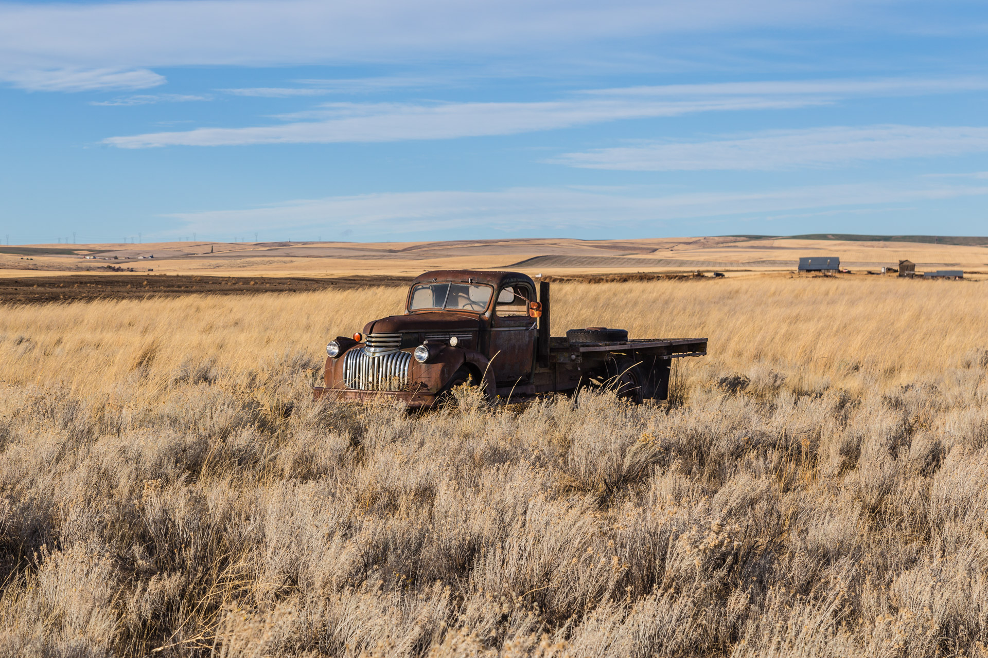 Hartline, Washington - A Prairie Truck