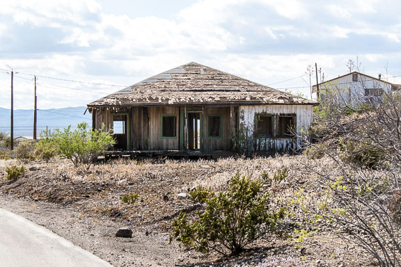 Searchlight, Nevada - A Shell In A Desert Mining Town