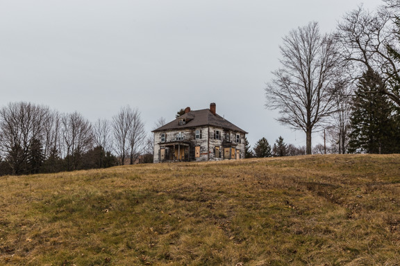Millbrook, New York - A Stately Decaying House