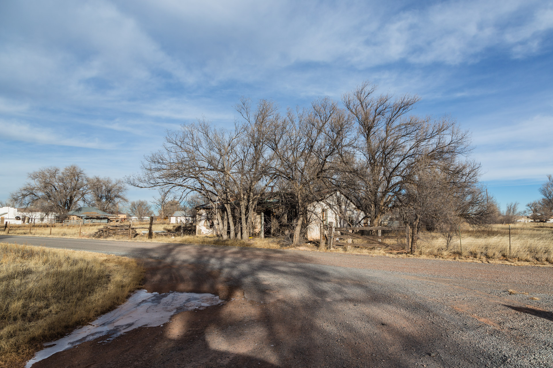 Encino, New Mexico - An Eerie Curb Appeal