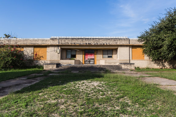 Premont, Texas - An Old Primary School