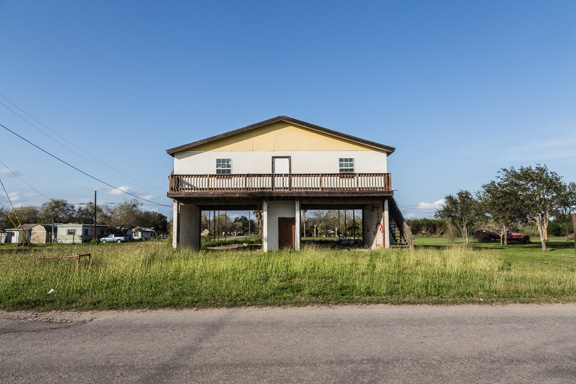 Premont, Texas - An Unusual Stilt Building
