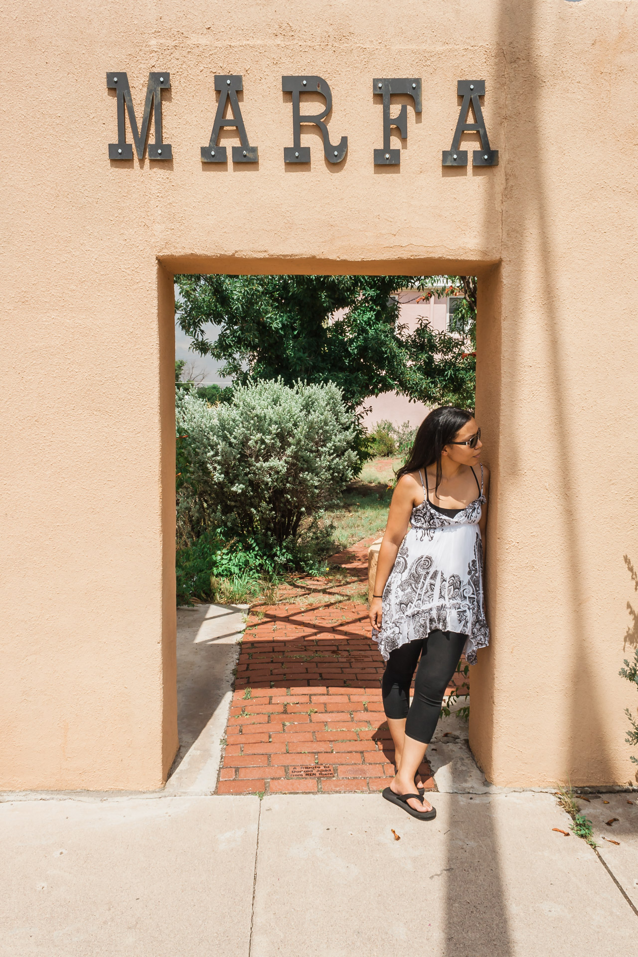Behind The Road Trip Photos (vertical marfa)