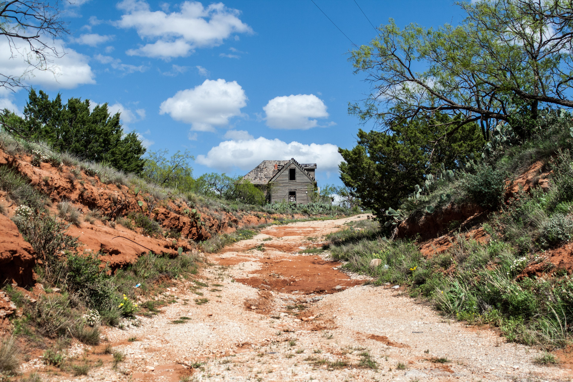 Sweetwater, Texas - Clay Dirt Road