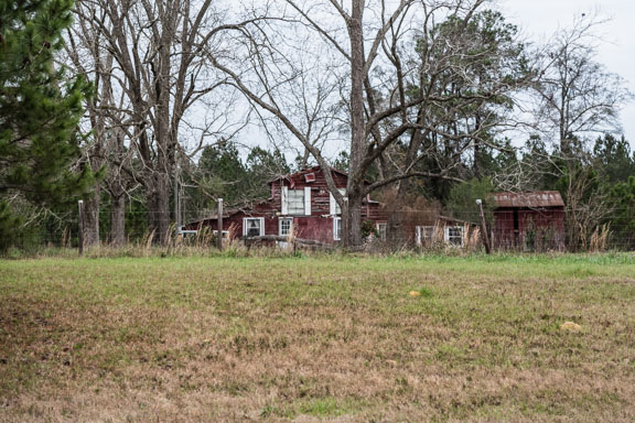 Statesboro, Georgia - Decaying Barn House
