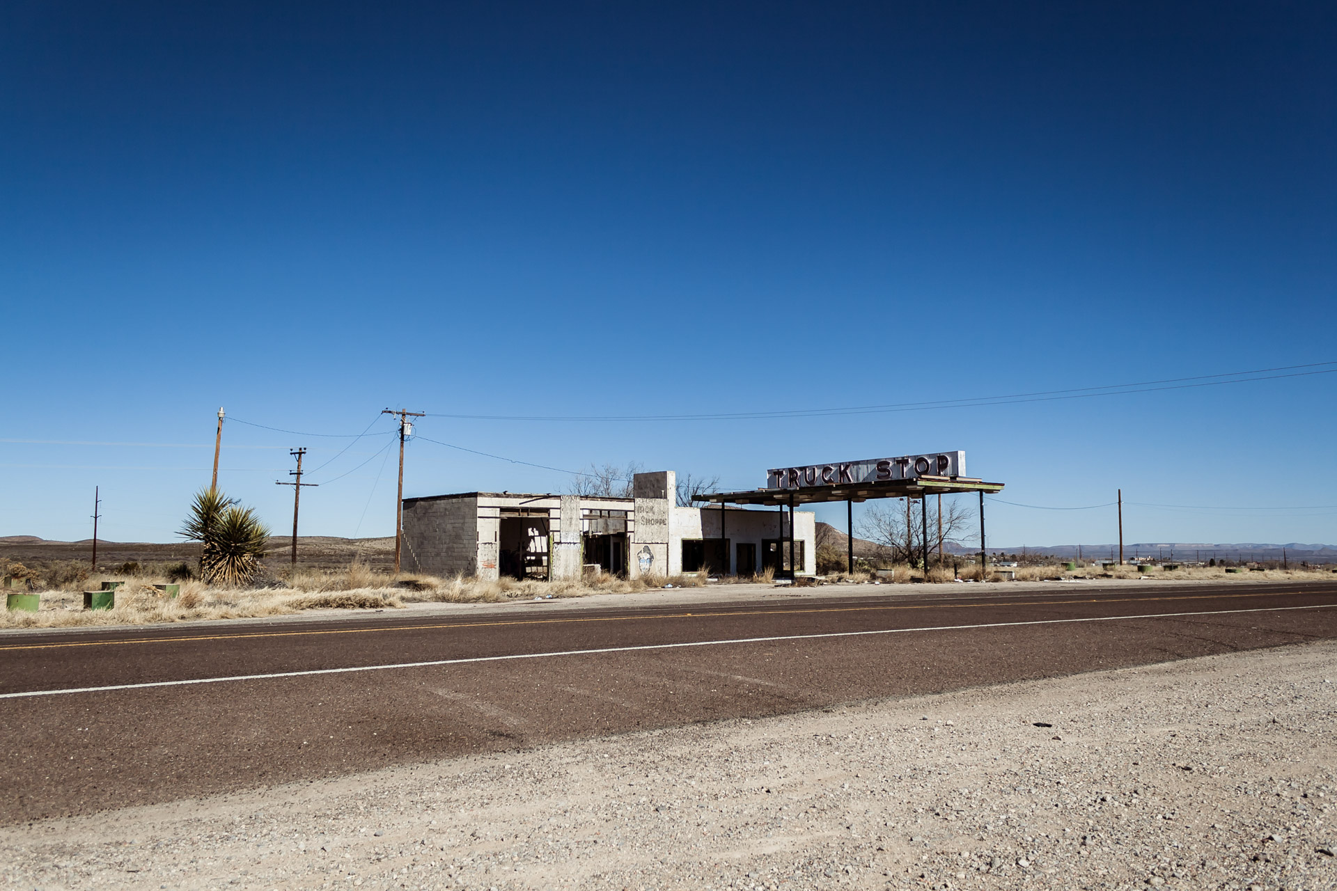 Desert Truck Stop (left far)