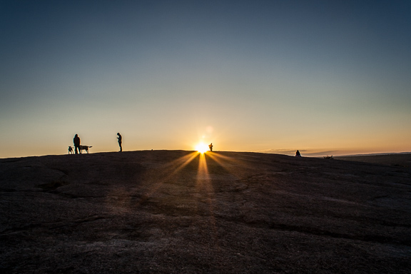 Enchanted Rock At Sunset + Friday Link Love