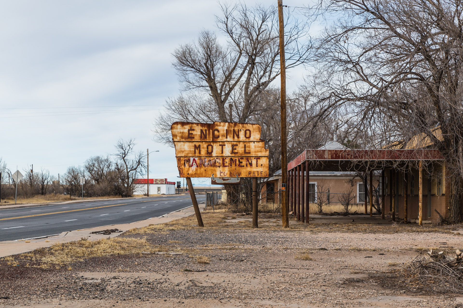 Encino, New Mexico - Encino Motel