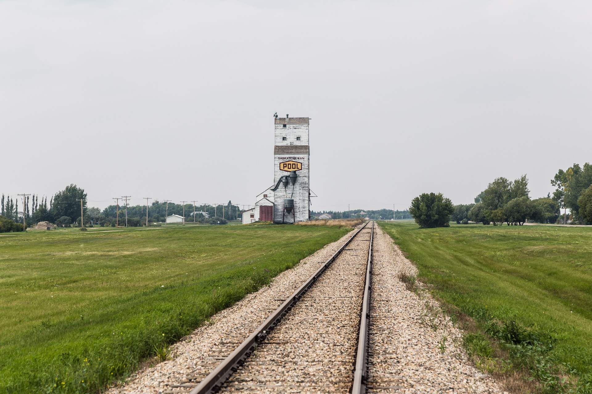 Grain Elevator In Town (mid tracks)