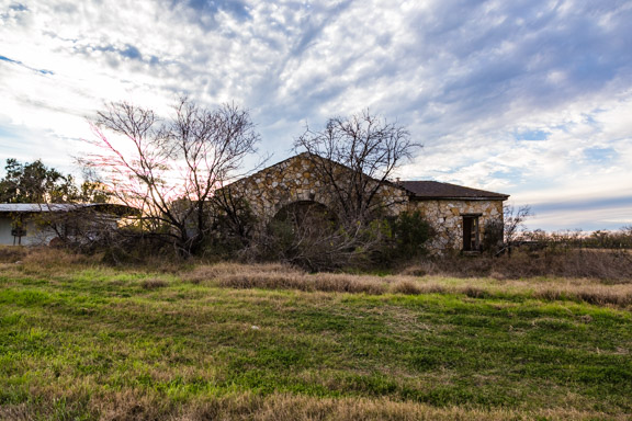 Jourdanton, Texas - Intricate Stone House