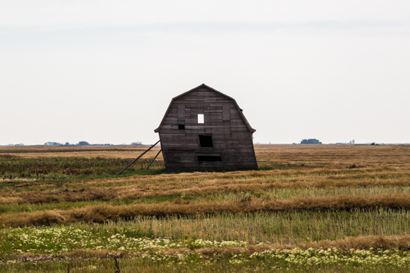 Loreburn, Saskatchewan, Canada - Lean-To Barn
