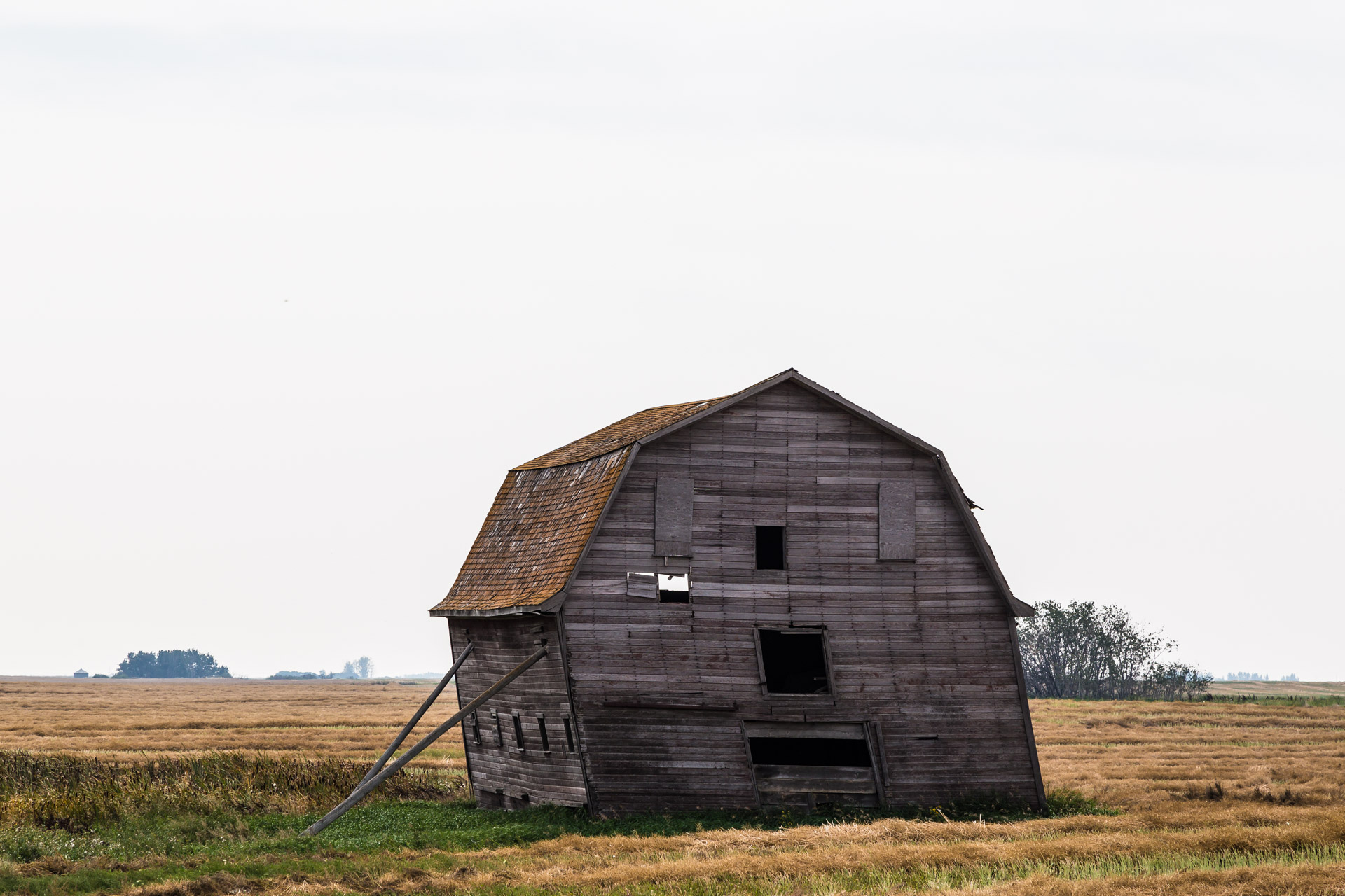 Lean To Barn (left side close)