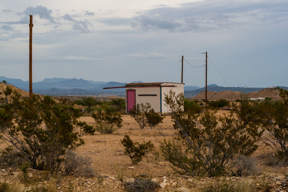 Terlingua, Texas - Little Pink Door