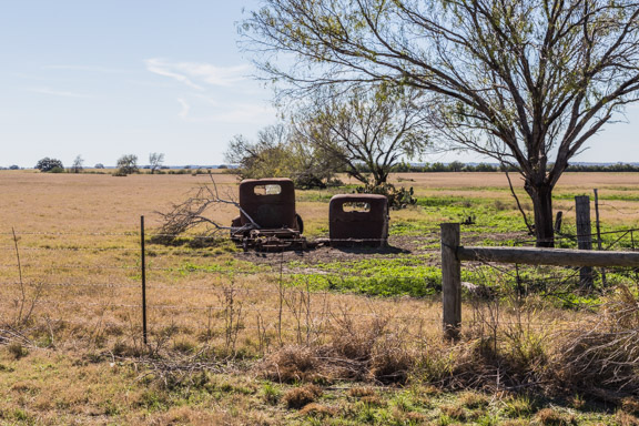 George West, Texas - Rusty Vintage Trucks
