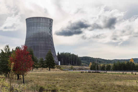 Elma, Washington - Satsop Nuclear Power Plant