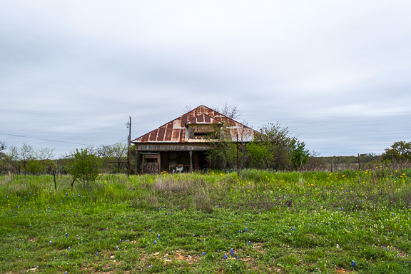 Mason, Texas - Slot Window House