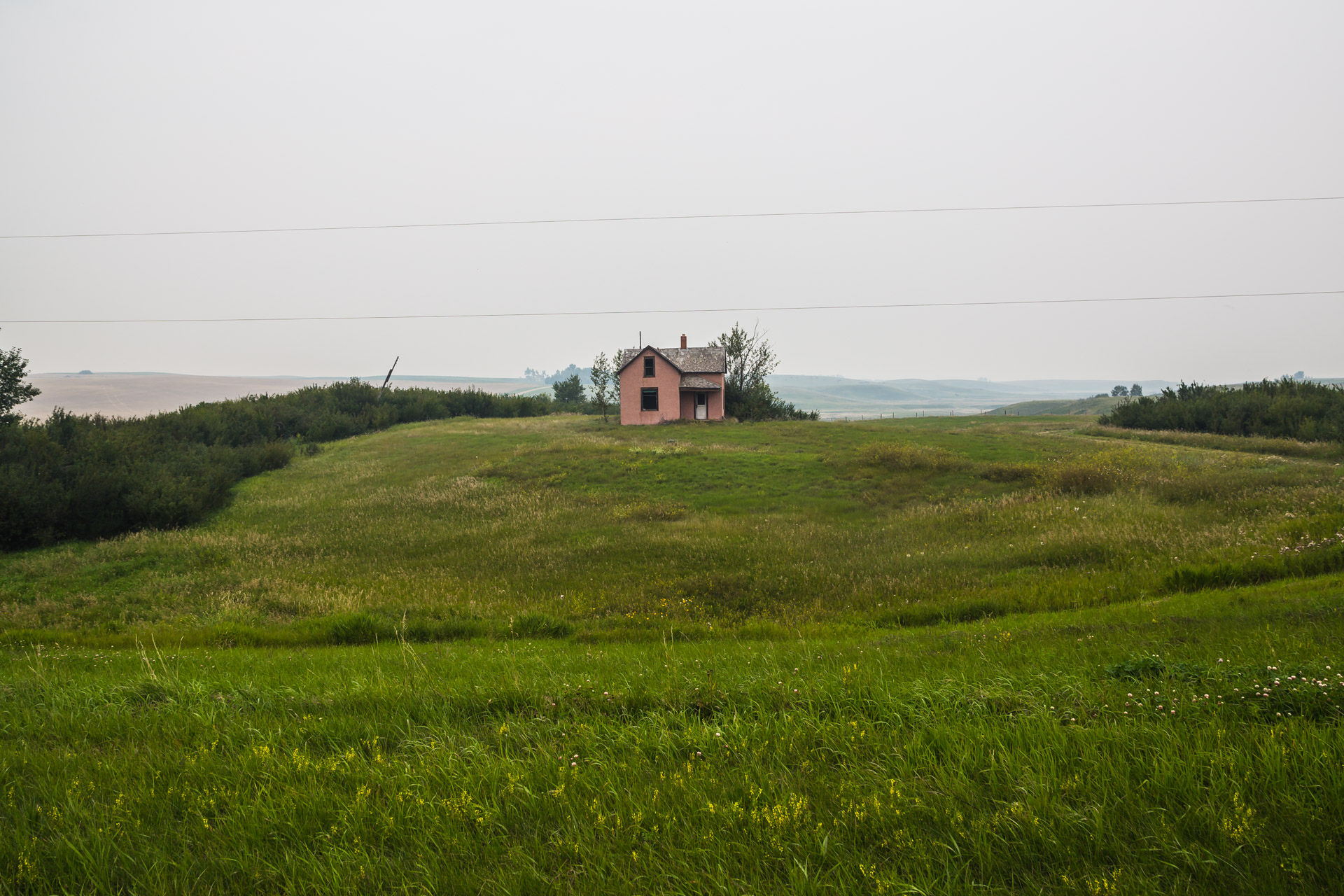 Smokey Pink House (left far)