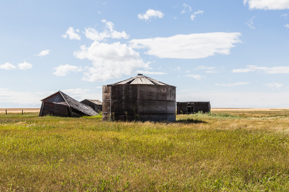 Champion, Alberta, Canada - Still Standing In The Canadian Prairies