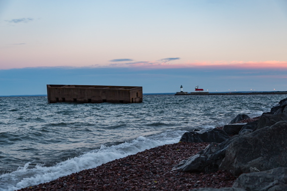 Duluth, Minnesota - Stuck In The Water