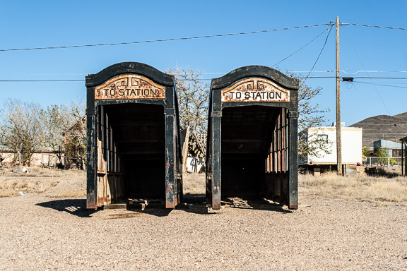 Goldfield, Nevada - Subway Station To Nowhere