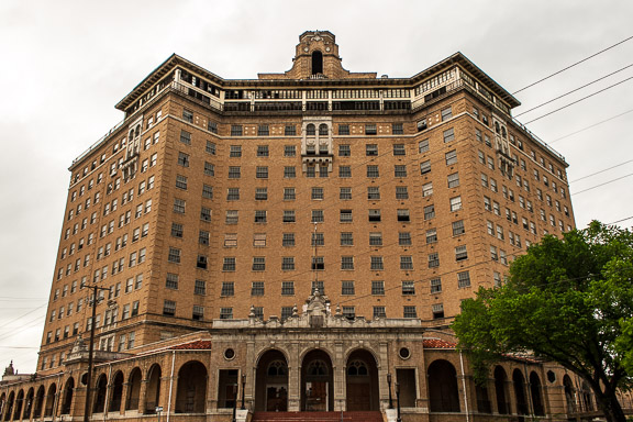 Mineral Wells, Texas - The Baker Hotel Part 1