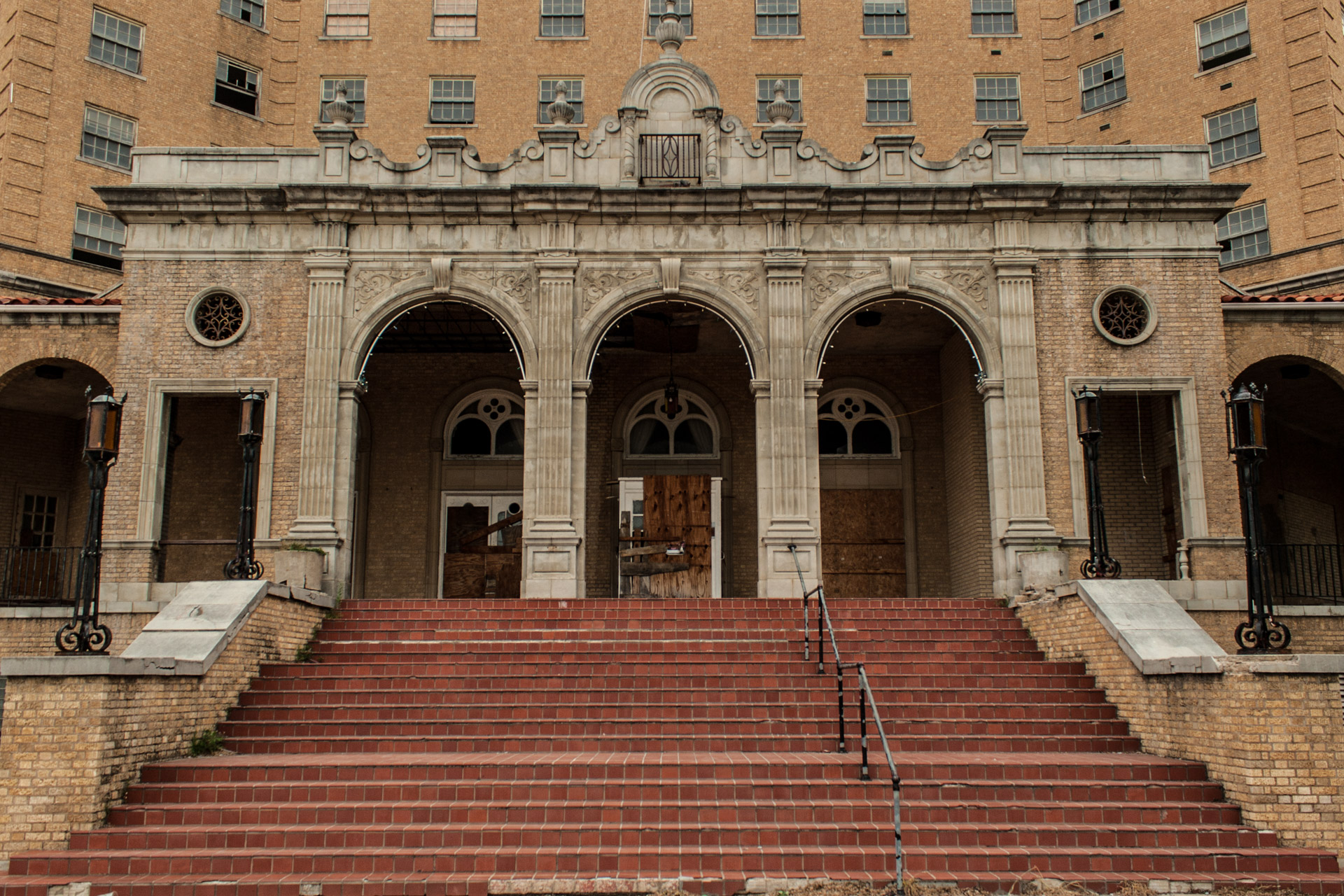 The Baker Hotel Part 1 (front stairs)