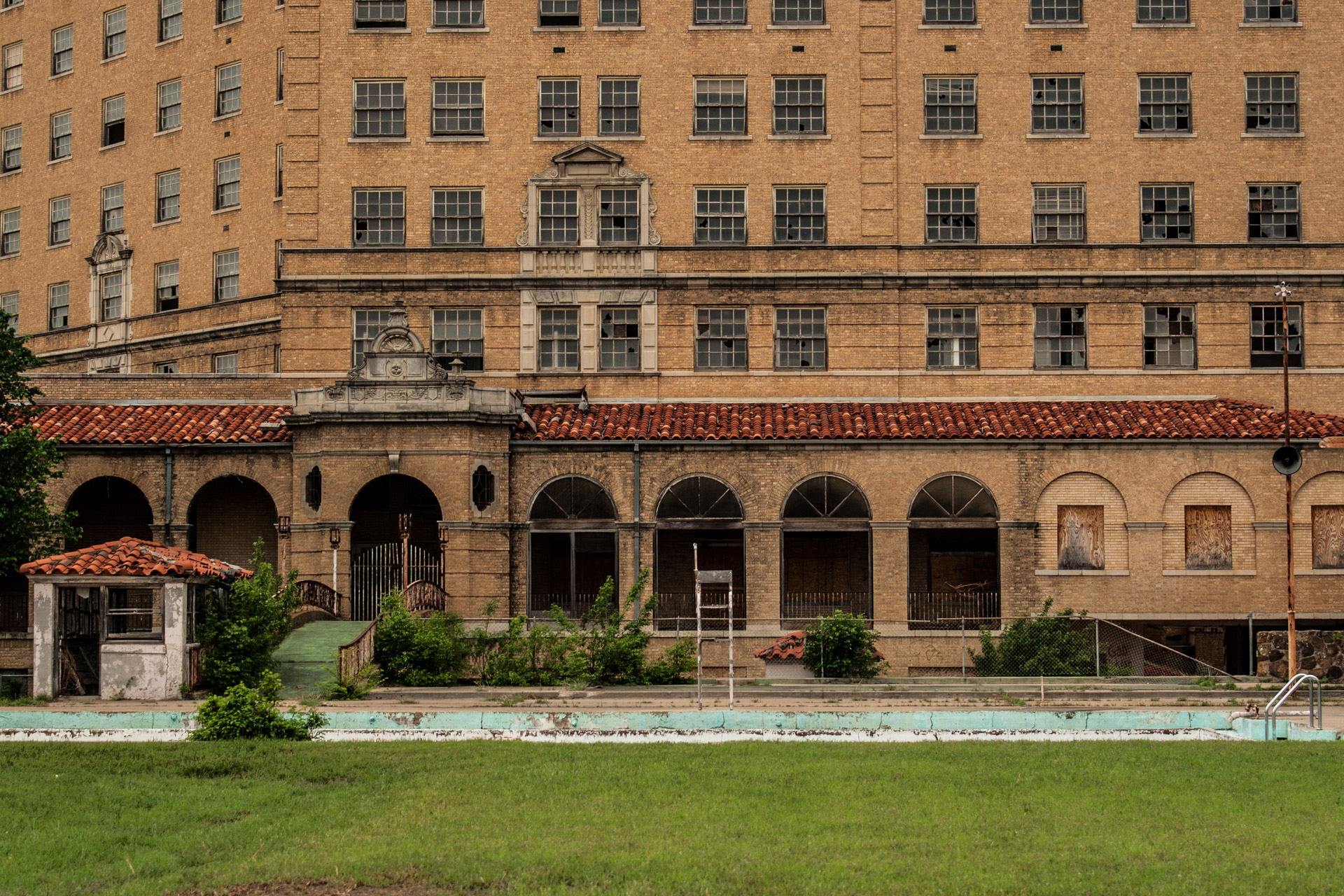 The Baker Hotel Part 1 (pool front)