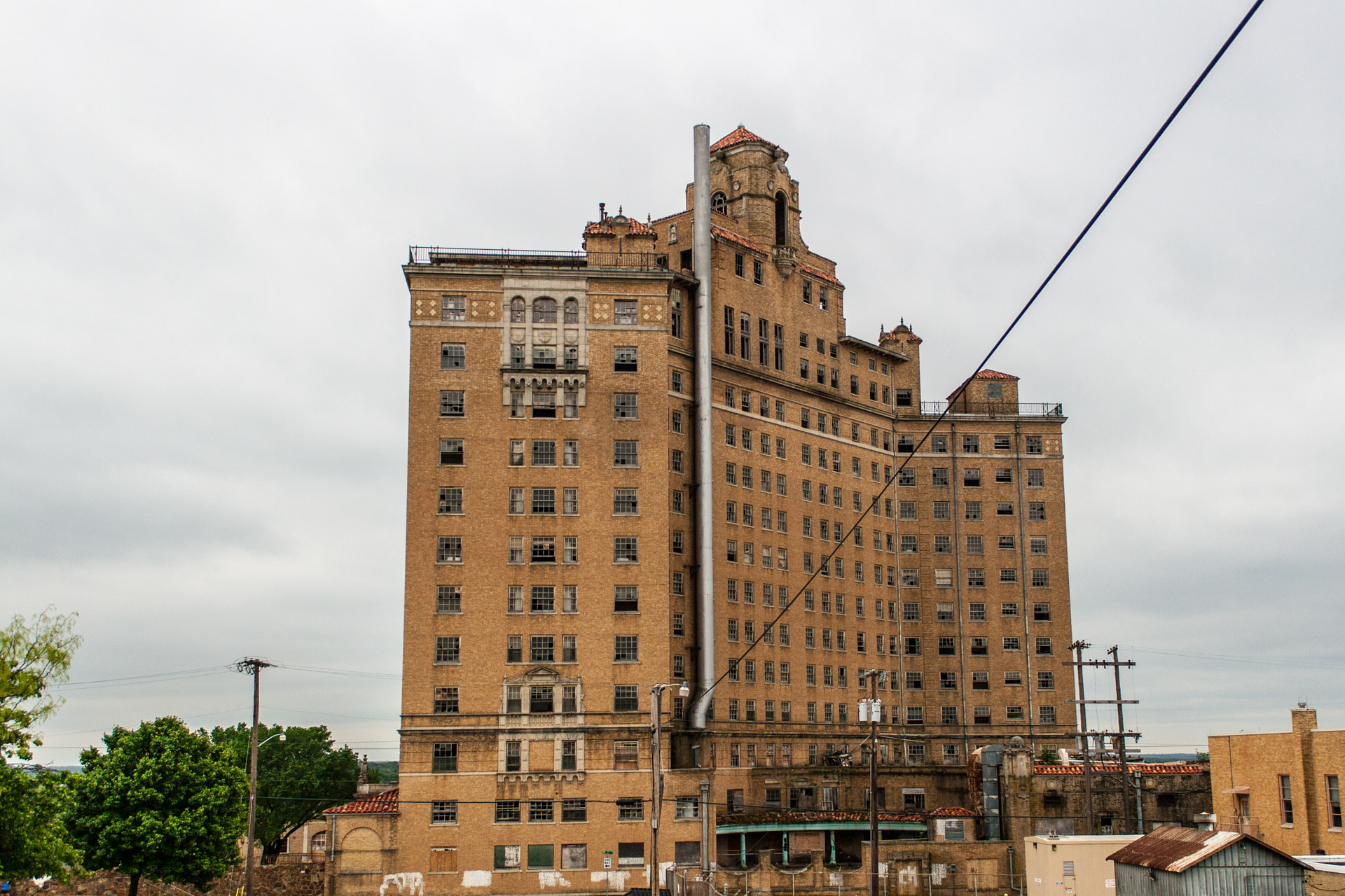 The Baker Hotel Part 2 (rear far)
