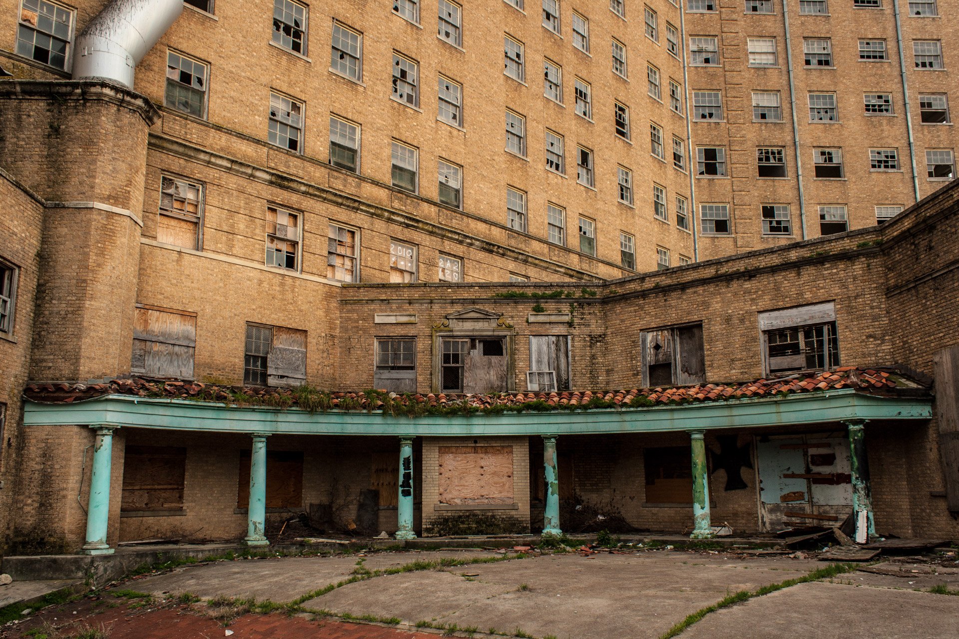 The Baker Hotel Part 2 (rear low)
