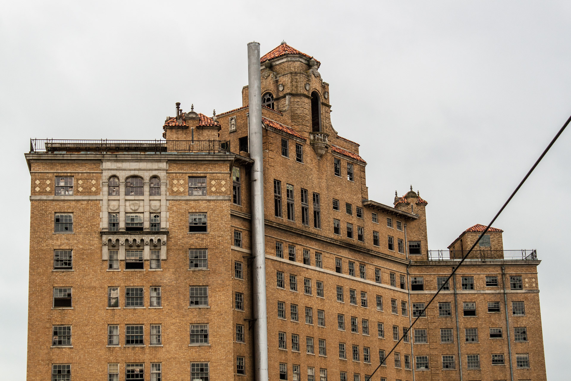 The Baker Hotel Part 2 (rear top)
