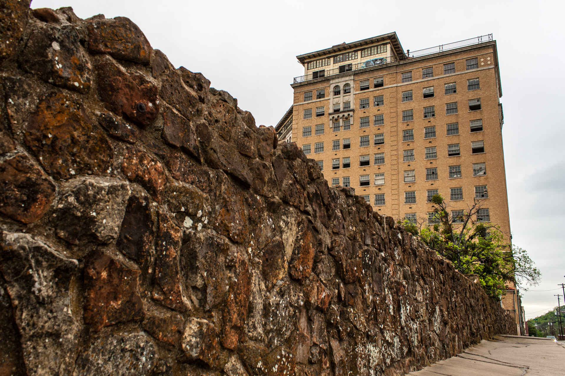 The Baker Hotel Part 2 (side wall)