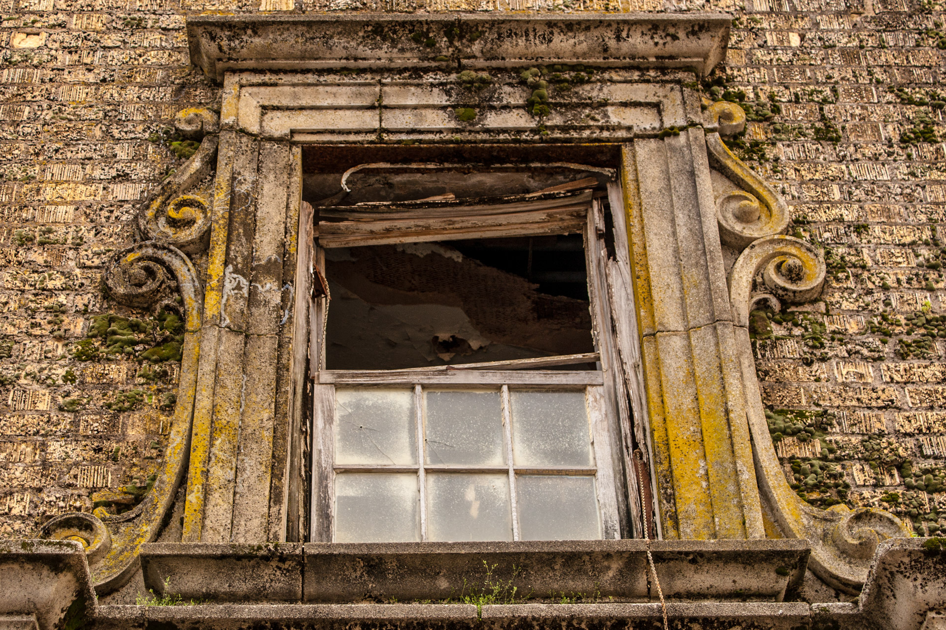 The Baker Hotel Part 3 (upper window)