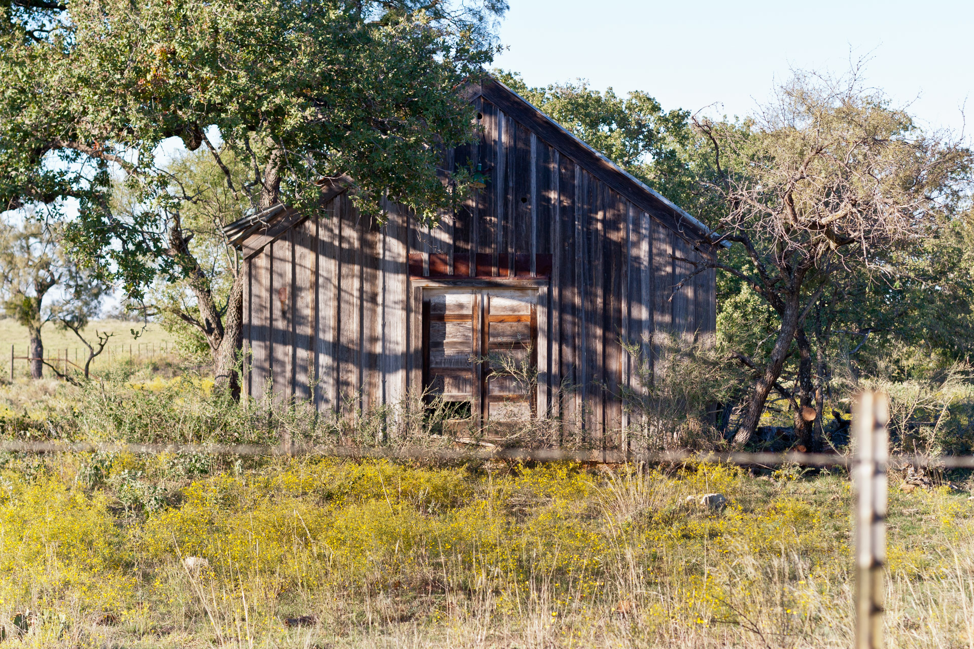 Mason County, Texas - The Broken Windows House (front close)
