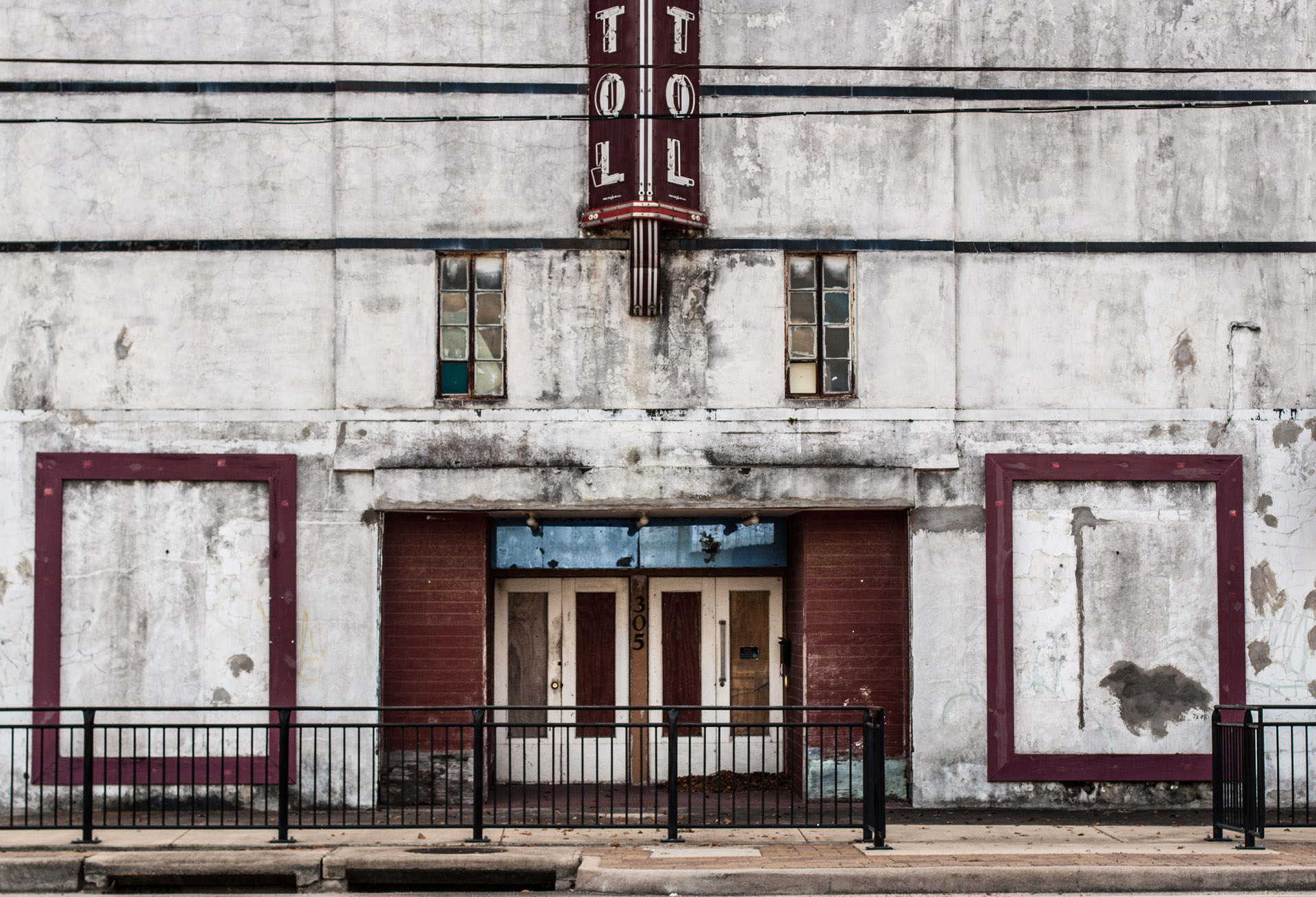 West Columbia, Texas - The Capitol Theater (front close)