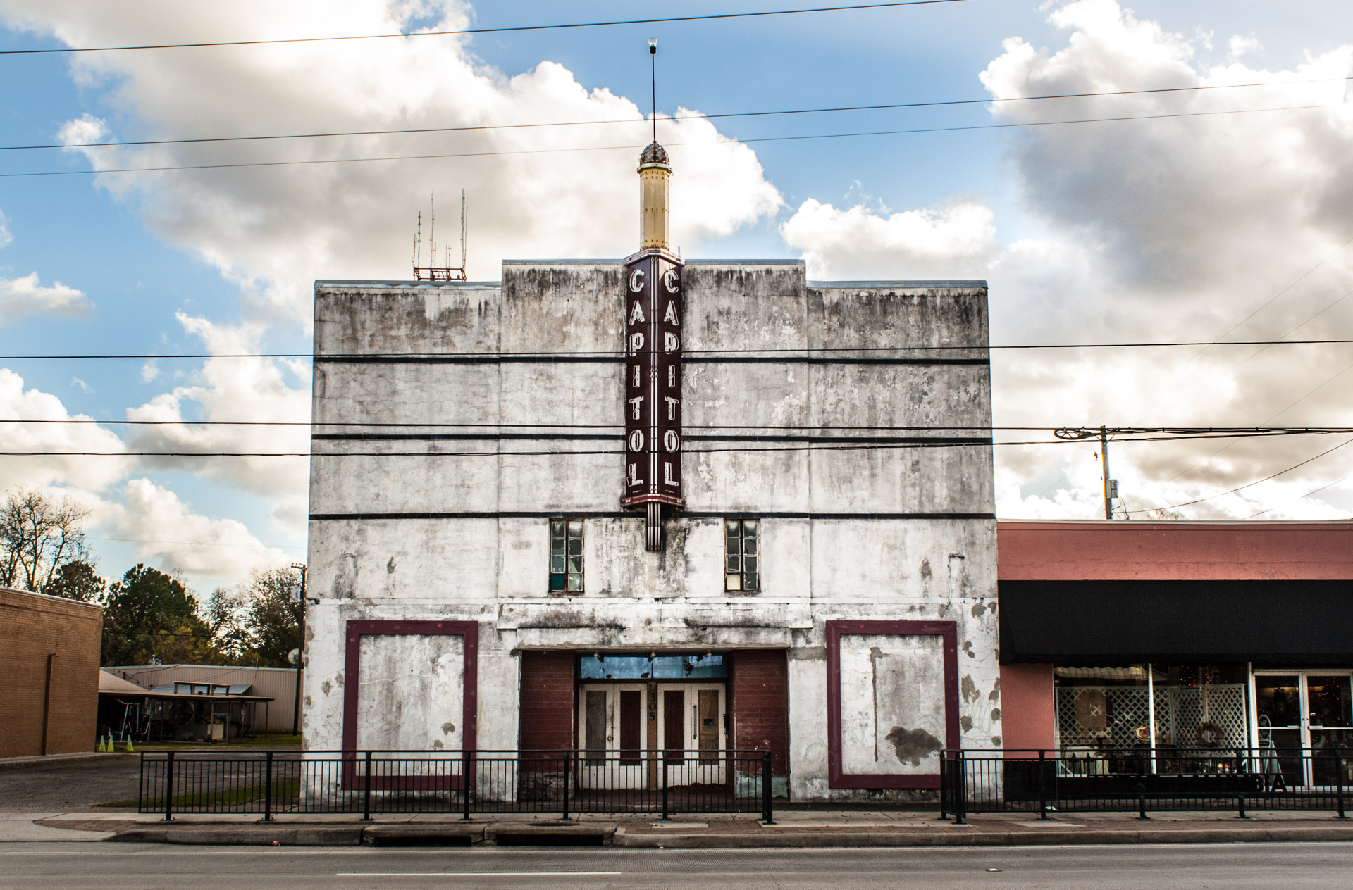 West Columbia, Texas - The Capitol Theater (front far)