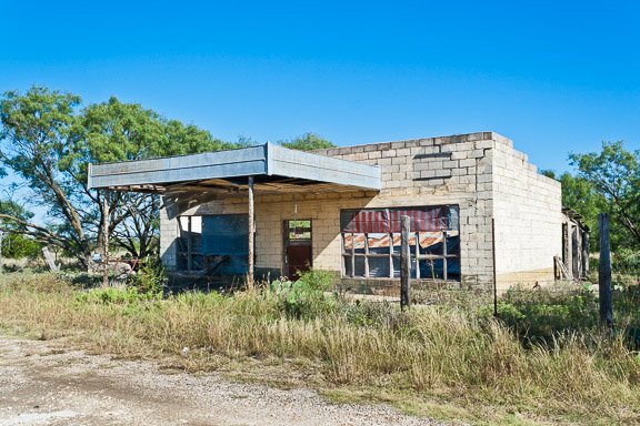 Talpa, Texas - The Falling Tin Store