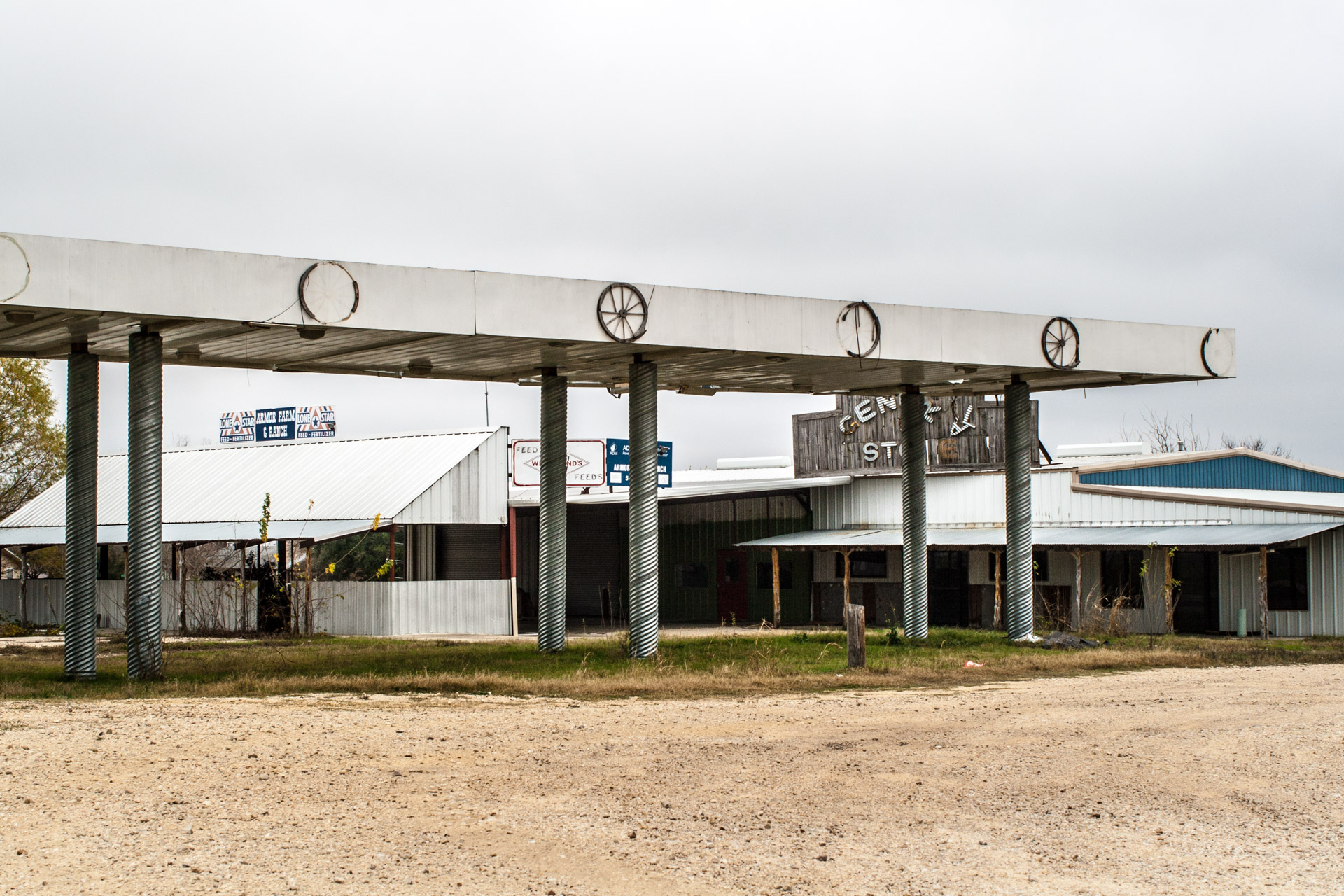 Taylor, Texas - The General Store Gas Station (mid)