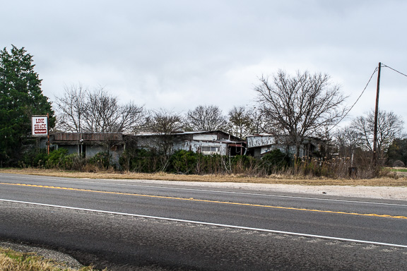 Buckholts, Texas - The Line Shack Restaurant