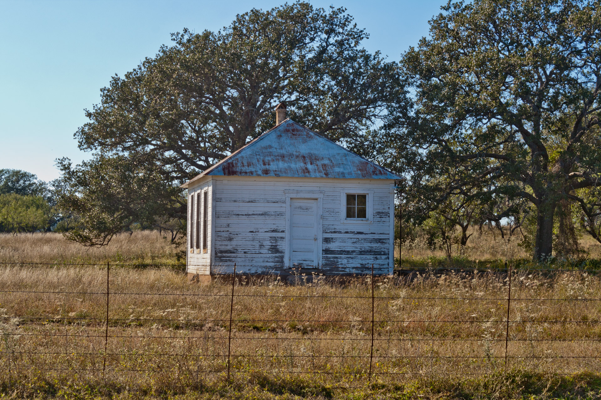 Fly Gap, Texas - The One-Room Schoolhouse (front close)