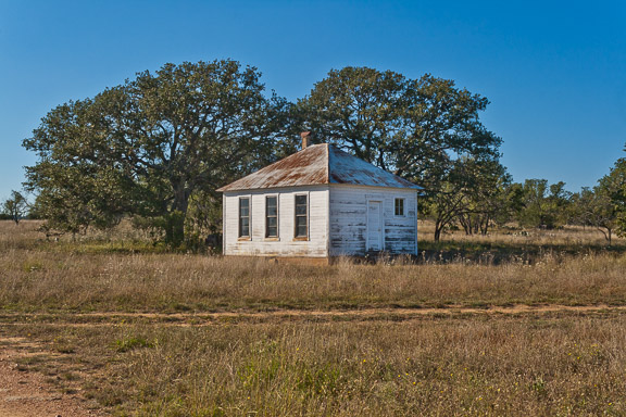 Fly Gap, Texas - The One-Room Schoolhouse