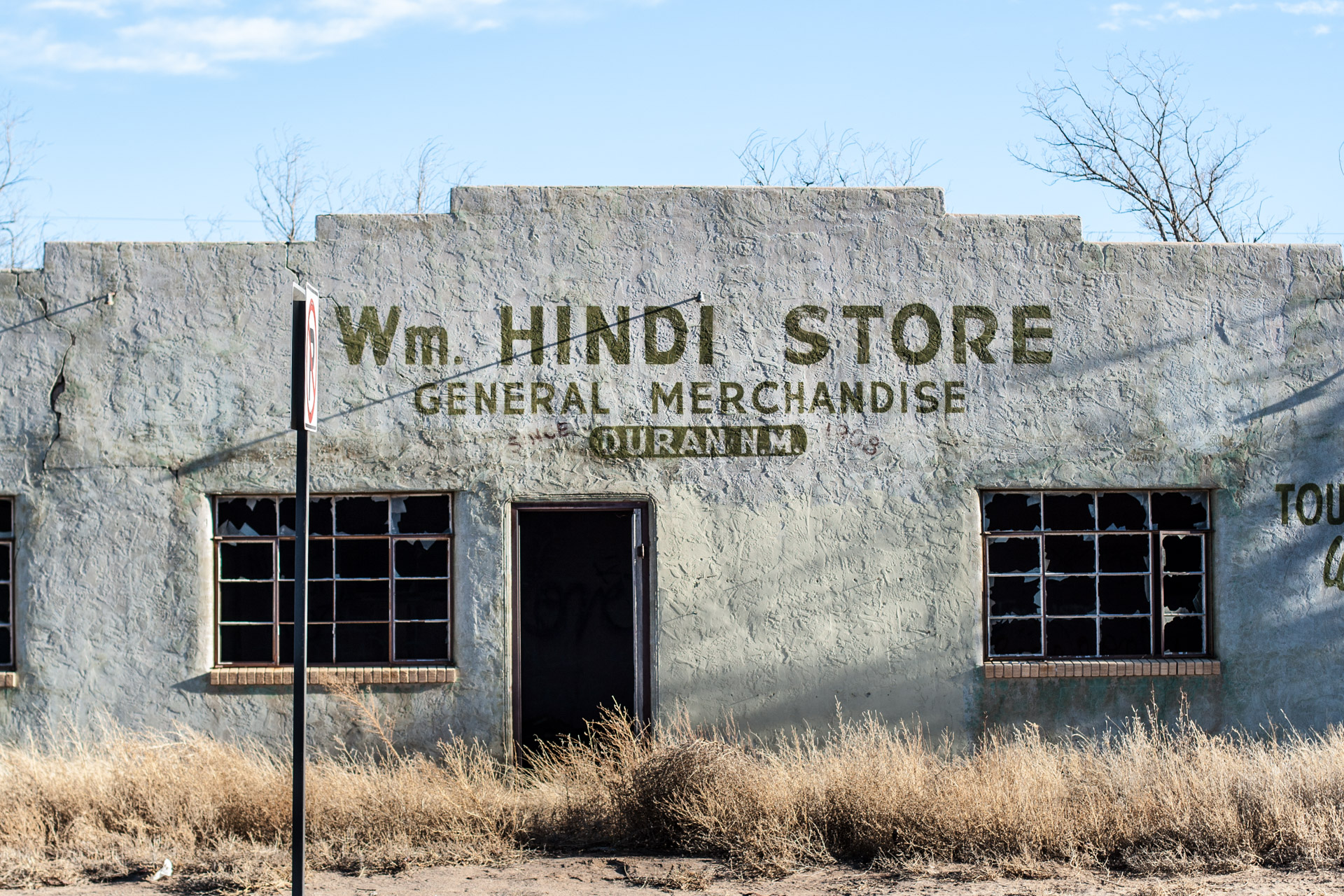 Duran, New Mexico - The Wm. Hindi Store (front close)