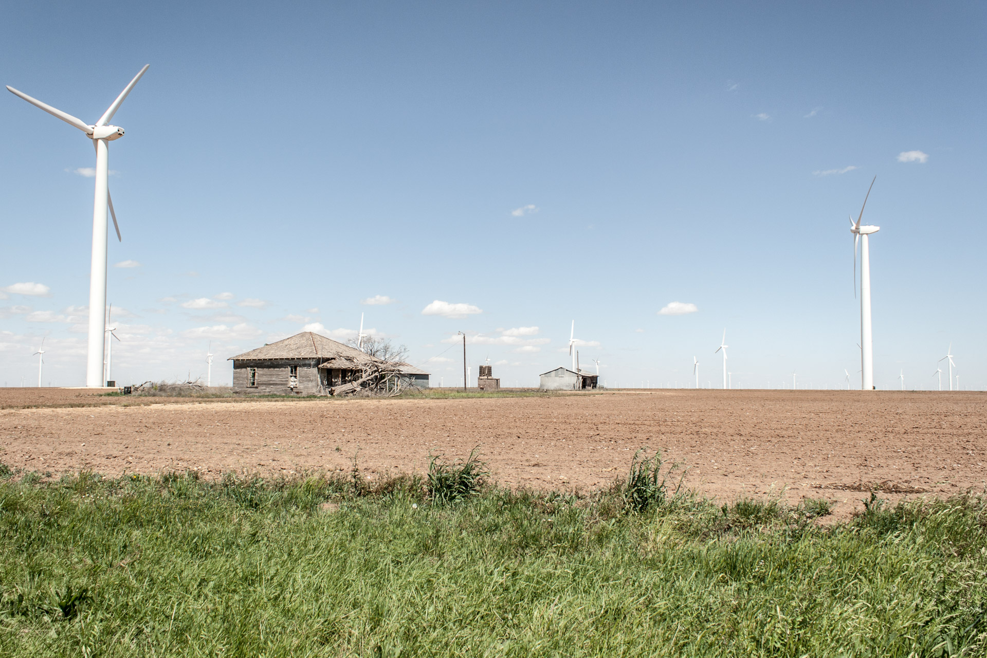 Wind Turbine Community Storage House (angle right far)
