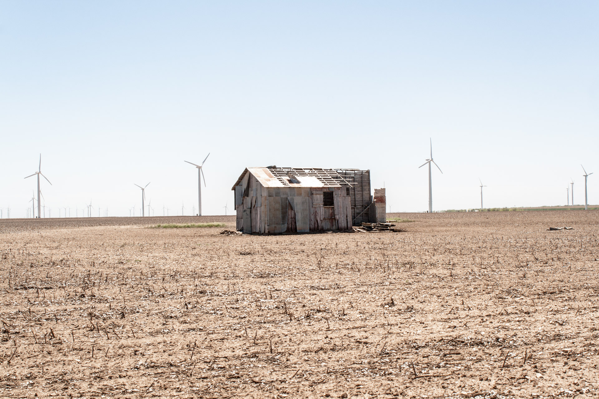 Wind Turbine Community Tiny Barn (angle left far)
